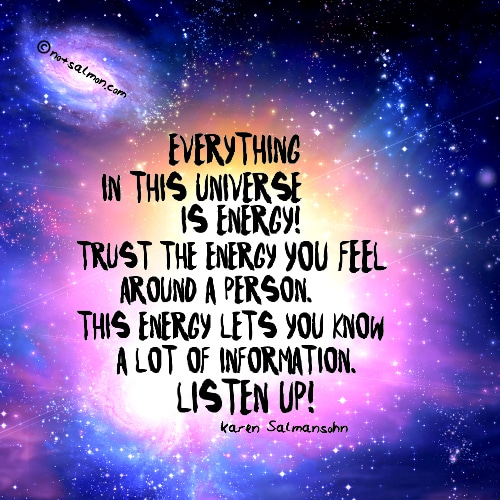 everything in universe is energy