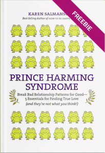 Prince Harming Syndrome Book Cover Freebie