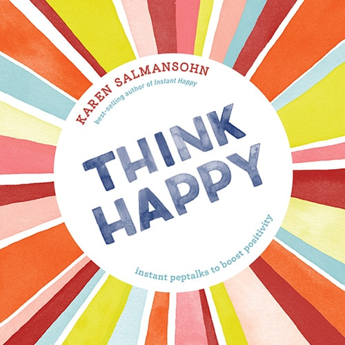 Think Happy book cover