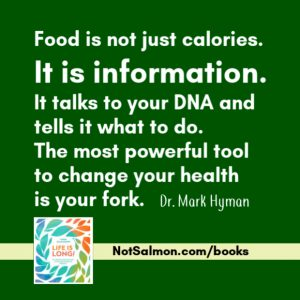 food is information for your dna