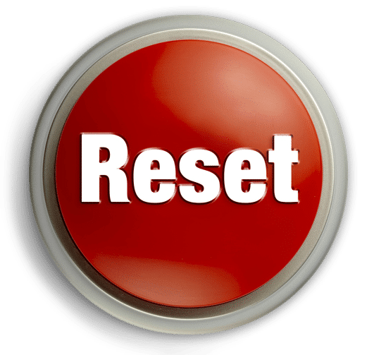 Think Happy Book Reset Button