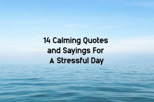 best calming quotes for stress