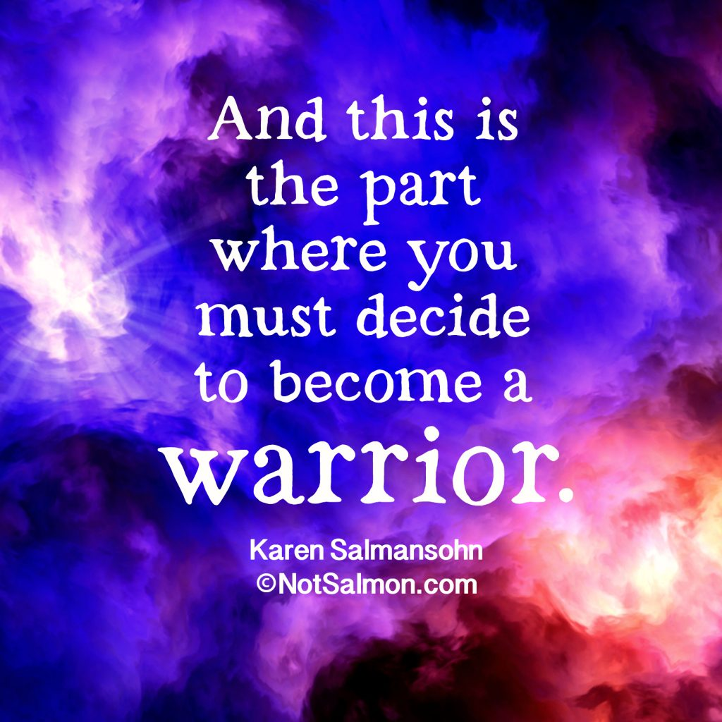 Motivational warrior Quotes For Coping