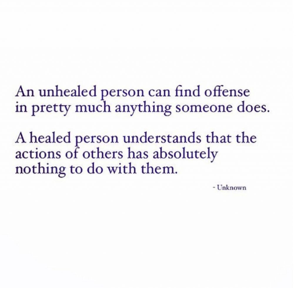 forgiveness of unhealed person reminder