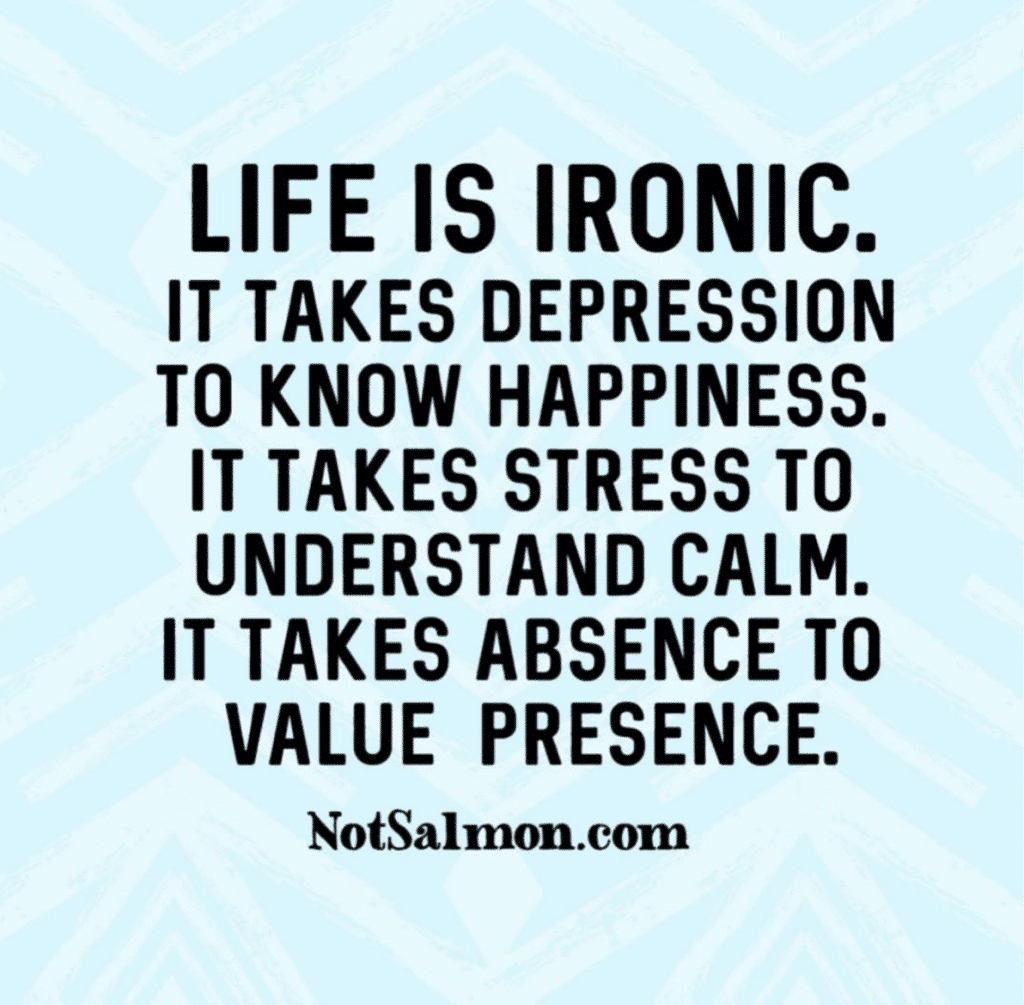 ironic life quote to make you laugh