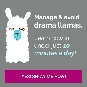 No Drama Llama Video Course Ad