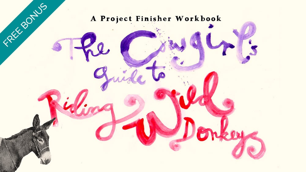 Free Bonus - Project Finisher Workbook by Leonie Dawson