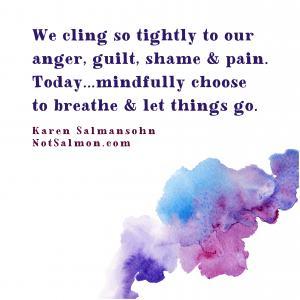 breathe let go anxiety