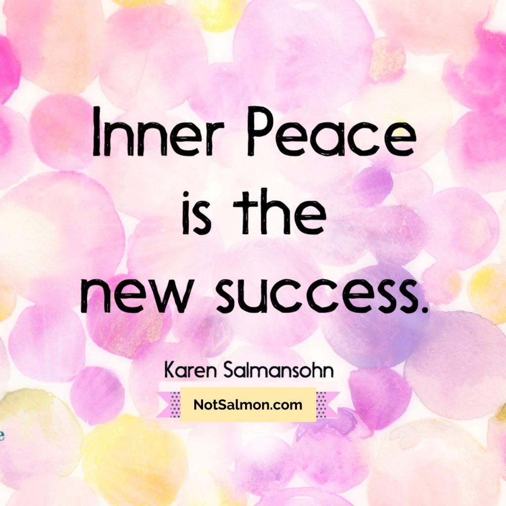 peace success quote