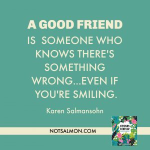 good friend knows there's something wrong friends forever book