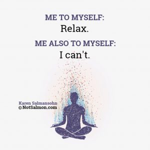 it's often hard for beginners to meditate