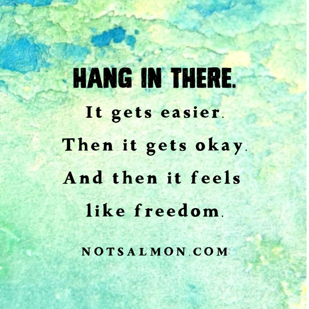 hang in there quote to inspire faith