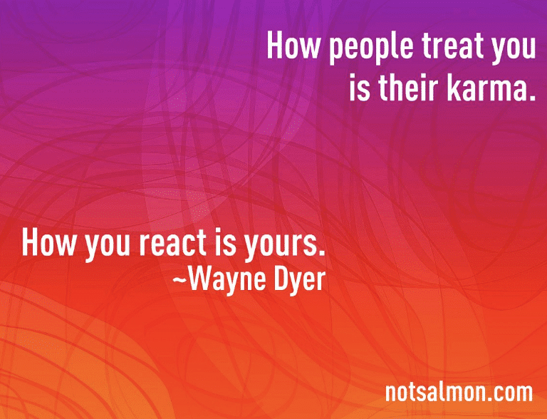 wayne dyer quote on karma