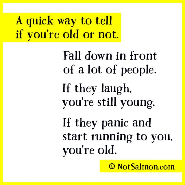 humorous getting older quote