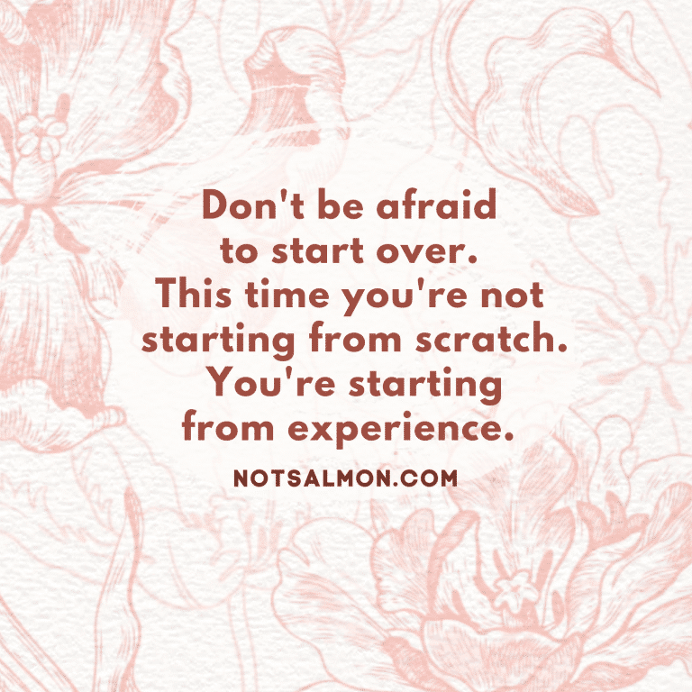 start over quote