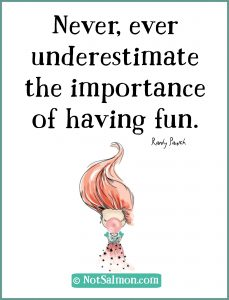 importance of fun