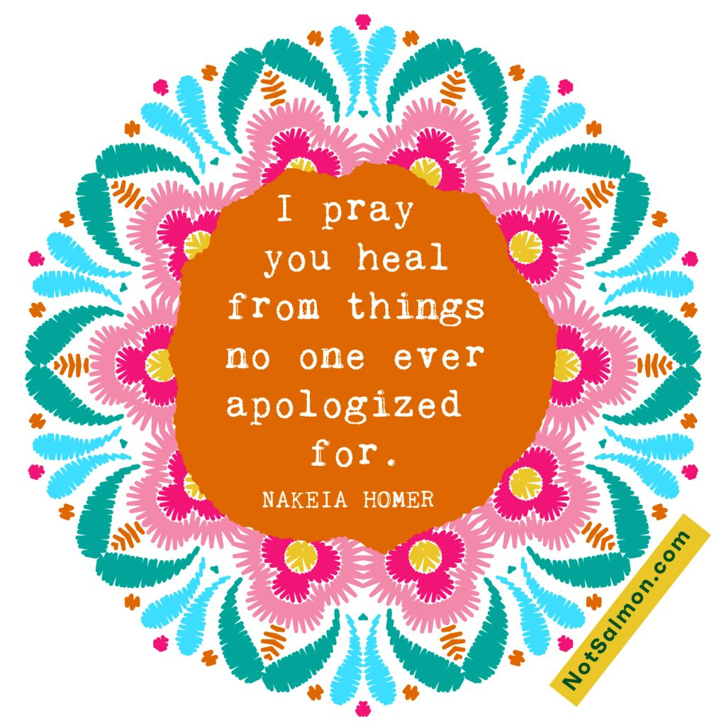 healing quote nakeia homer