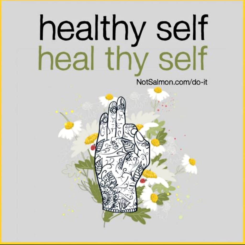 healthy quote cute salmansohn