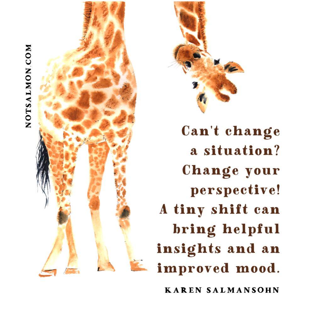 saying change situation