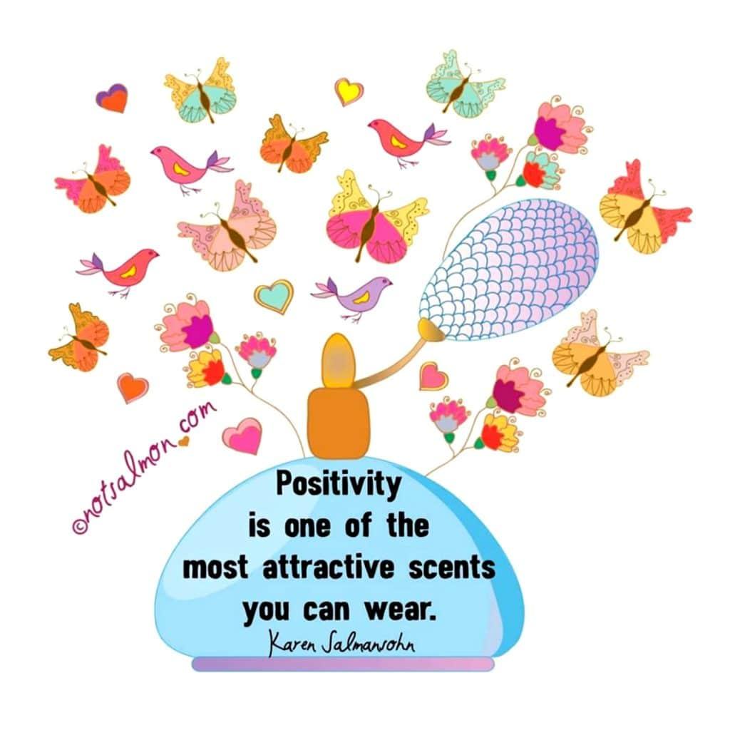 positivity quote salmansohn