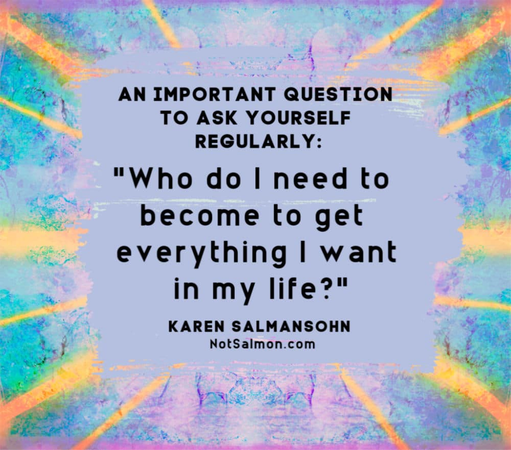 karen salmansohn husband become best self