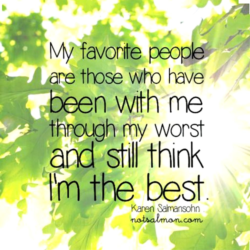 favorite people quote
