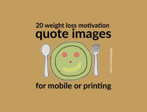 weight loss motivation quote image
