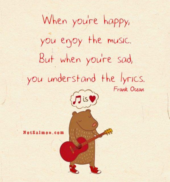 Frank Ocean music Quote