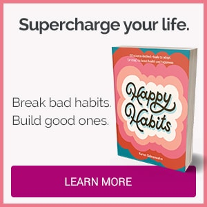 Happy Habits book by Karen Salmansohn