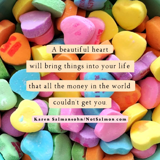 beautiful heart money
