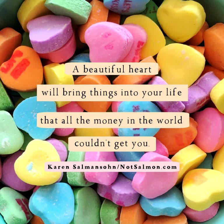 beautiful heart money