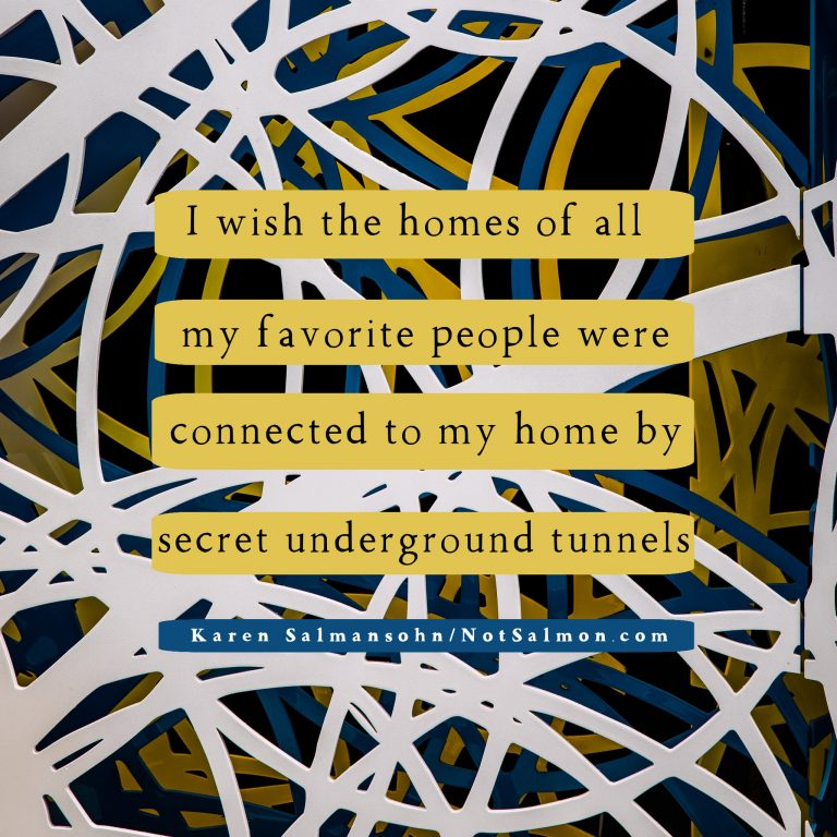 i wish homes friends loved ones tunnel