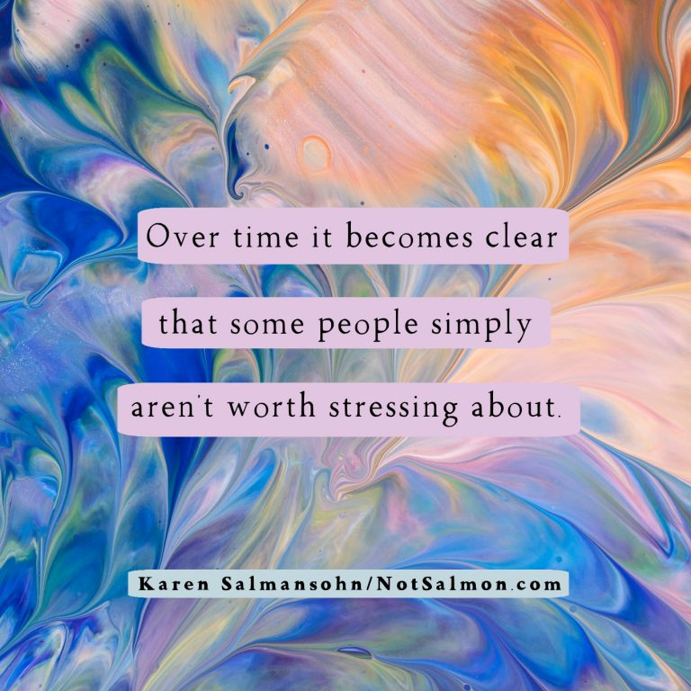 over time clear some people stressing over