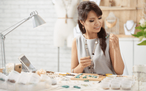 running a jewelry business from home