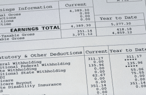 3 Loans Requiring Real Paycheck Stubs
