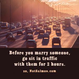 driving car traffic