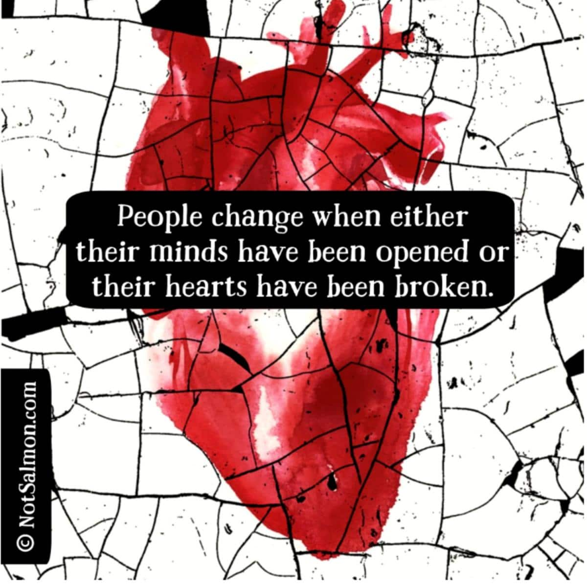 quote about change transformation karen salmansohn