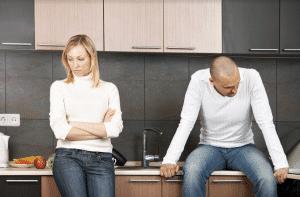 stages of grief after divorce