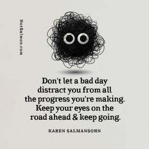 quote don't give up looking notsalmon