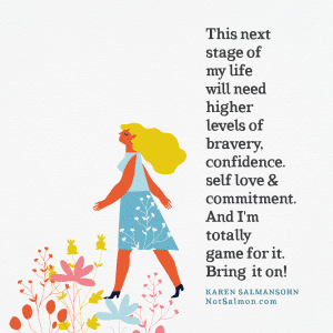 next steps stages of life bravery confidence divorce