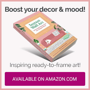 Instant Wall Art book by Karen Salmansohn available on Amazon.com