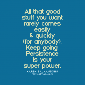 self love persistence