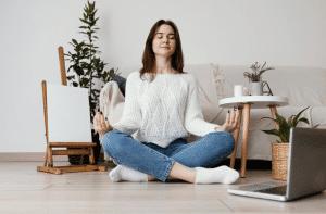 How Meditation Improves Writing Skills