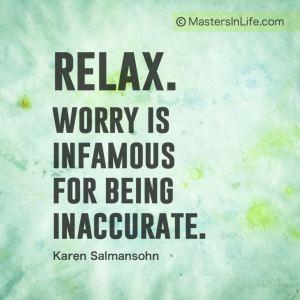 stressful worry