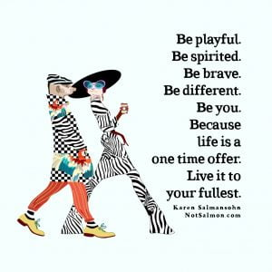 quote be you different fullest