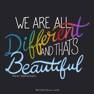 different beautiful karen salmansohn quote