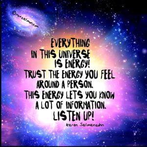 universe is energy spiritual reminder