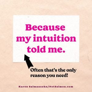hot mess recovery intuition