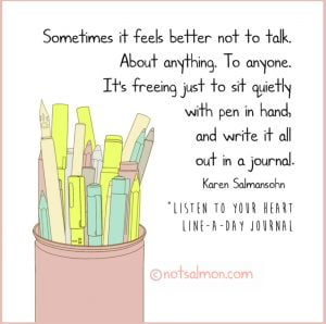 journaling as therapy