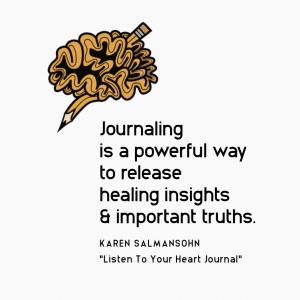 journal is therapy